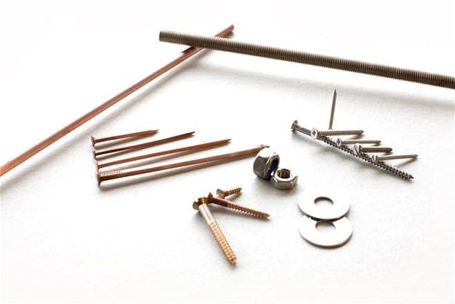 Screws, Washers and Bar